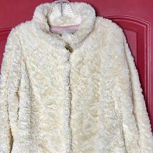 Sanctuary Live Life White Faux Fur